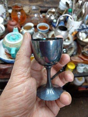 大草原文物館,日本純銀杯,43克