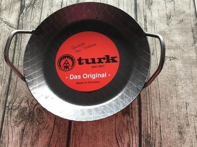 德國 TURK 雙耳鍛鐵平底鍋 28cm # 65928