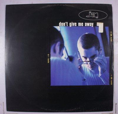 《二手英版單曲黑膠》Jai – Don't Give Me Away