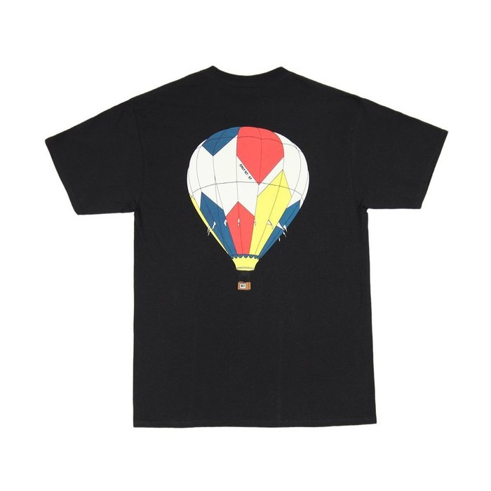 { POISON } ONLY NY BALLOON T-SHIRT 自由象徵熱氣球圖像短TEE