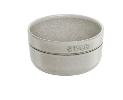 Staub 圓形陶碗12cm-松露白(500ml)