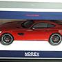 【MASH現貨瘋狂價] Norev 1/18 Mercedes-Benz AMG GT S (C190) 紅