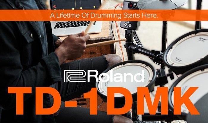 造韻樂器音響-JU-MUSIC- Roland TD-1DMK 電子鼓 TD1DMK 網狀鼓皮 另有 TD1KPX2