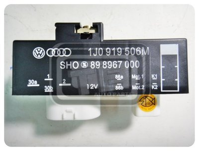 【TE汽配通】Volkswagen 福斯 POLO GOLF LUPO 風箱繼電器 冷氣繼電器 正廠件