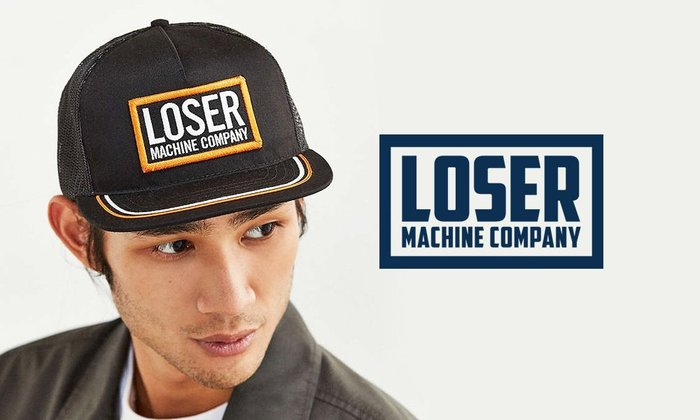 GOODFORIT / 美國品牌Loser Machine High Iron電繡Logo貼布網帽