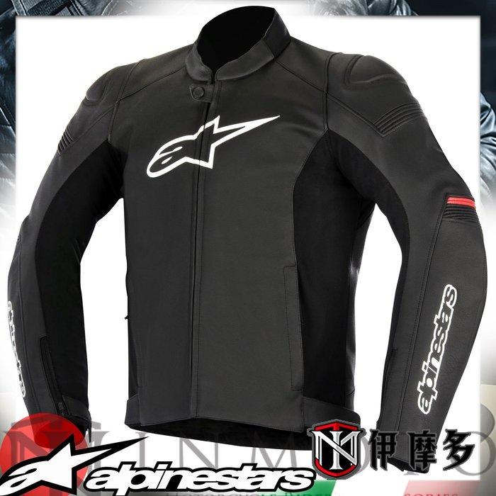伊摩多※義大利 Alpinestars 防摔皮衣 SP-1 LEATHER JACKET 黑紅3100817-13