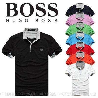 男式polo衫男裝翻領短袖T恤 7色入 6519#