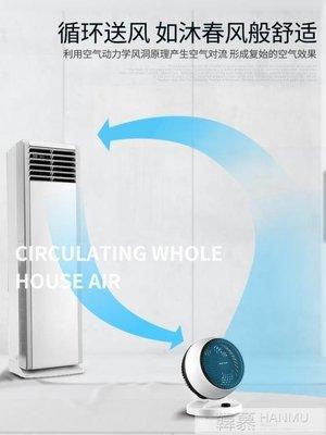 電風扇循環扇家用渦輪空氣對流扇立體搖頭學生靜音台式電扇 YTL