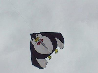 [翔飛戶外休閒] 企鵝大風箏-- 玻璃纖維骨架,尼龍布風箏--台灣製造