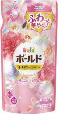 日本進口 P&G Bold 白金花香洗衣精 new-粉-補充包620g