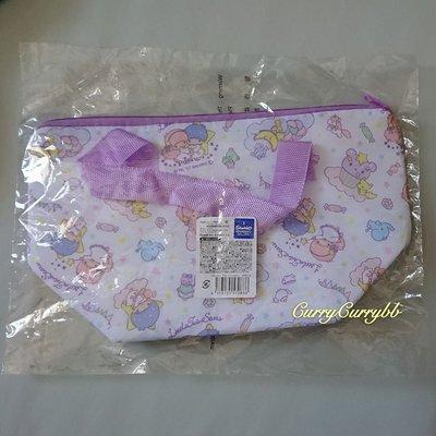 [日本直送] Sanrio Little Twin Stars 雙子星 Kiki Lala 拉鏈保溫袋 兒童午餐飯盒袋