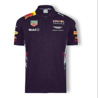順發高爾夫 2020新款 Redbull F1賽車服 紅牛車隊t恤 F1賽車短袖T恤 車迷服 男運動短T 短袖賓士法拉利衣服