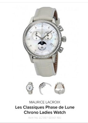 Maurice Lacroix 艾美錶 飾品 手錶