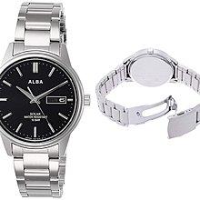 日本正版 SEIKO 精工 ALBA AEFD562 男錶 男用 手錶 太陽能充電 日本代購