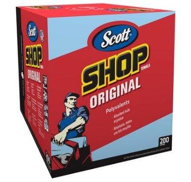 《好市多COSTCO 網路代購》金百利 Scott Shop Towel 強韌萬用紙抹布 200抽×2盒