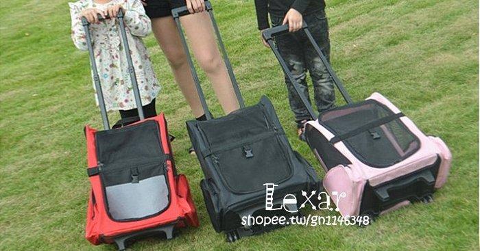 寵物拉桿包拉桿箱雙肩狗狗背包外出便攜寵物包貓狗包