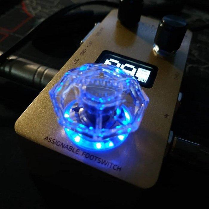 ☆唐尼樂器︵☆ Hotone Karat Cap 鑽石型 效果器 踩釘帽 腳踏開關蓋 標準規格它牌效果器可用