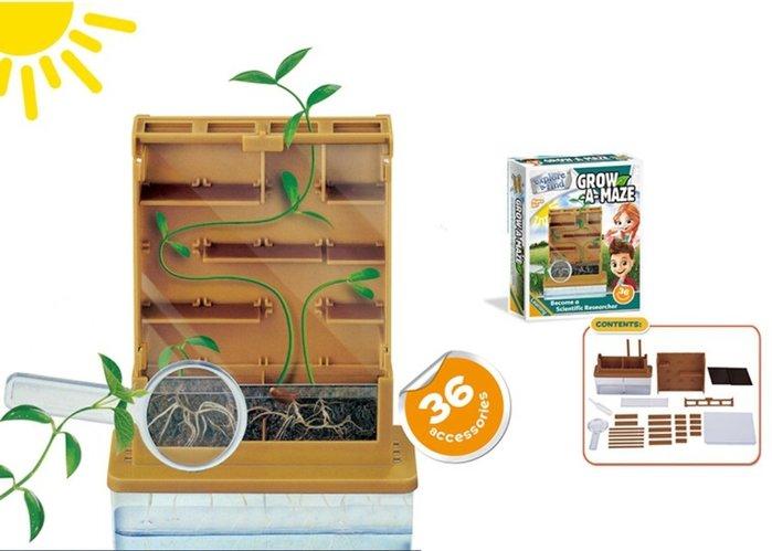 【好孩子福利社】學校DIY玩具 科學套裝教學玩具 植物大戰 迷宮科學實驗物理玩具