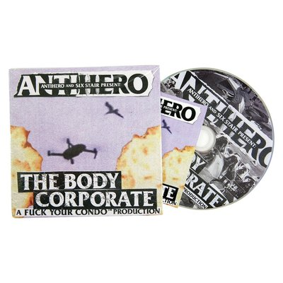 OVERLORD ANTI HERO - THE BODY CORPORATE 滑板 DVD