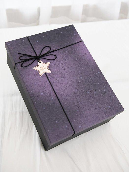 禮品盒 禮品盒子精美韓版超大號情人節創意生日口紅禮盒空盒包裝盒禮物盒 優品百貨