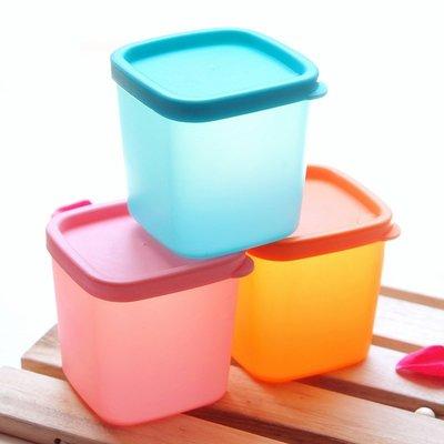 多功能冰箱蔬果料理雜糧罐儲物盒密封罐保鮮盒380ml(中款)