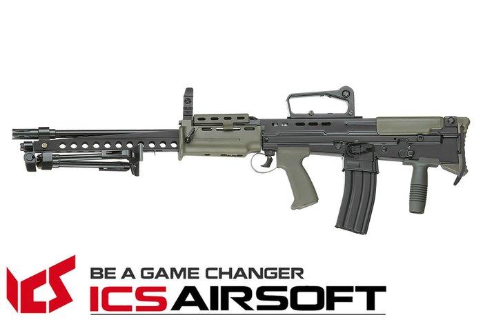【翔準軍品AOG】ICS L86 A2 重管步槍(雙色) 突擊步槍 電動槍 全金屬 長槍 生存遊戲 ICS-86