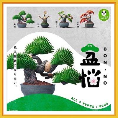 扭蛋魂|T-ARTS 熊貓之穴 盆惱 盆栽人 Bon-no 植物 植栽 厭世 療癒系