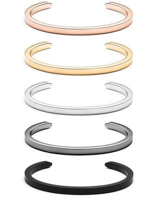 MVMT - MINIMAL BARBED 單環款 精美時尚質感 手環(女生 禮物 玫瑰金 金色 黑色 銀色 )