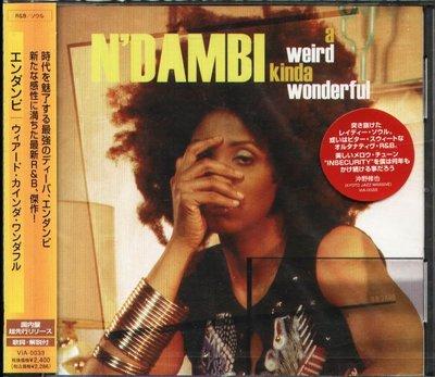K - N'dambi - A Weird Kinda Wonderful - 日版 CD - NEW