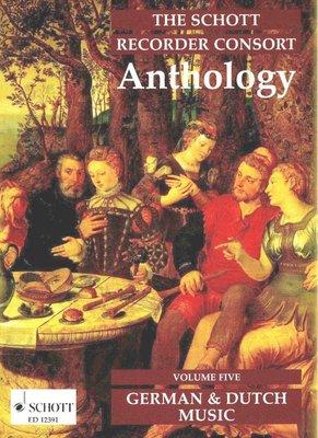 【599免運費】The Schott Recorder Consort Anthology Vol.5 德國與荷蘭音樂
