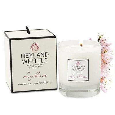 『Miss Cat 貓小姐』*Heyland & Whittle 英倫薇朵《台灣限定》櫻花香氛燭 香氛蠟燭 230g