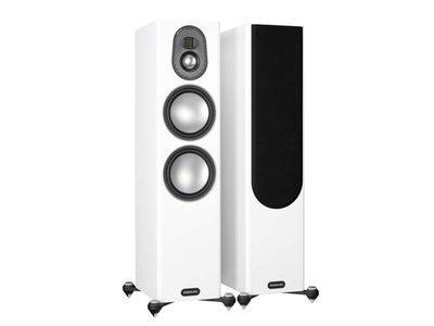 英國Monitor Audio 名展音響 新款金Gold 300 落地式喇叭/對 鋼烤版 桃園專賣店