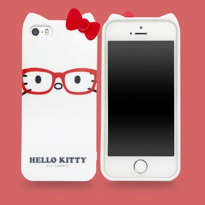 出清價📢免運 凱蒂貓 HELLO KITTY 尼德斯nydus 保護殼 手機殼軟殼 iphone5 5s SE