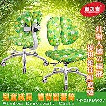 椅子王國 兒童雙背椅 (鋁合金腳座款) TW-2999PROJ