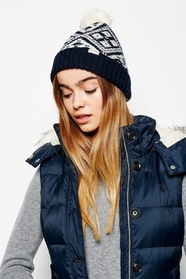 MISHIANA 英國品牌 JACK WILLS THURLOW FAIRISLE POM POM HAT(新款上市)