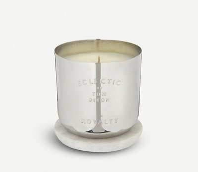 (現貨)英國 Tom Dixon 英倫香氛蠟燭系列 銀色 皇室銀華Royalty scented candle