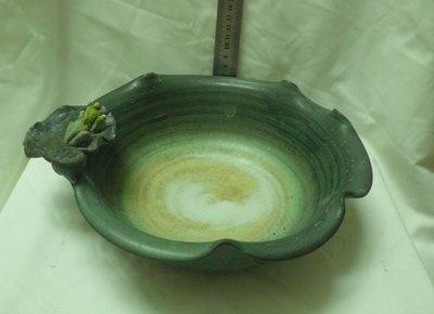 紫色小館80----------乾圓坊.手拉陶水盆