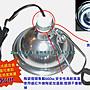 爬蟲專用原色陶瓷頭拋光鋁合金製高反射保溫燈罩(M)含夾子美國UL安規 電線耐熱度高 燈頭負載660w 生產成本高品質保證