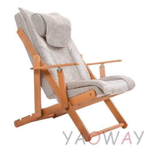 【耀偉】三段式揉捏電動按摩椅LM-A01(躺椅/休閒椅/摺疊椅/折疊椅/折疊床)