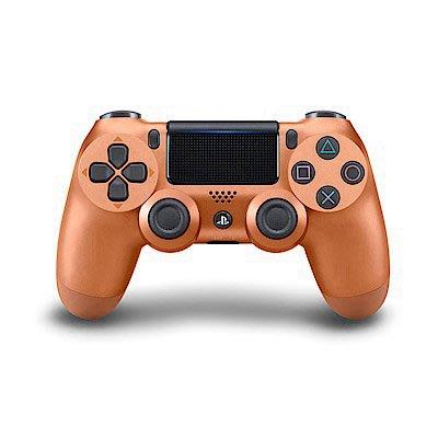 台中電玩小舖~PS4 DS4 無線控制器 手把 銅色 原廠台灣公司貨&手把充電線~2080