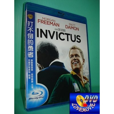 A區Blu-ray藍光台灣正版【打不倒的勇者Invictus (2009)】[含中文字幕]全新未拆《神鬼認證:麥特戴蒙》