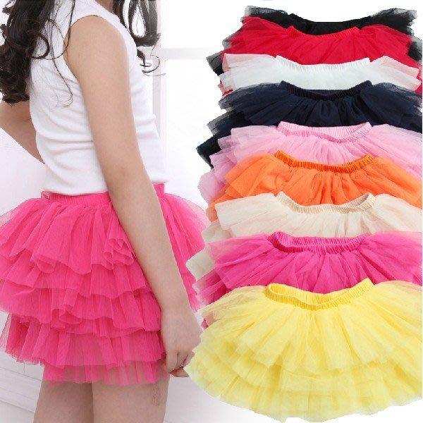 甜美《夢幻短紗裙》蓬蓬小短裙 紗裙 (J3-2)