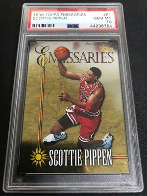 1998-99 Topps Emissaries #E1 Scottie Pippen
