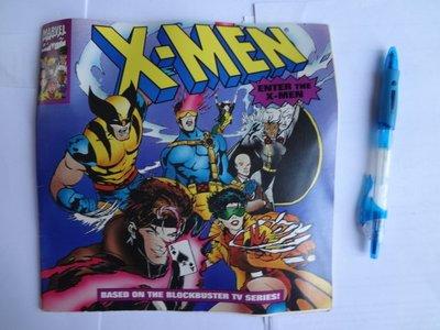 X-Men Story - Marvel - Based on Blockbuster TV Series