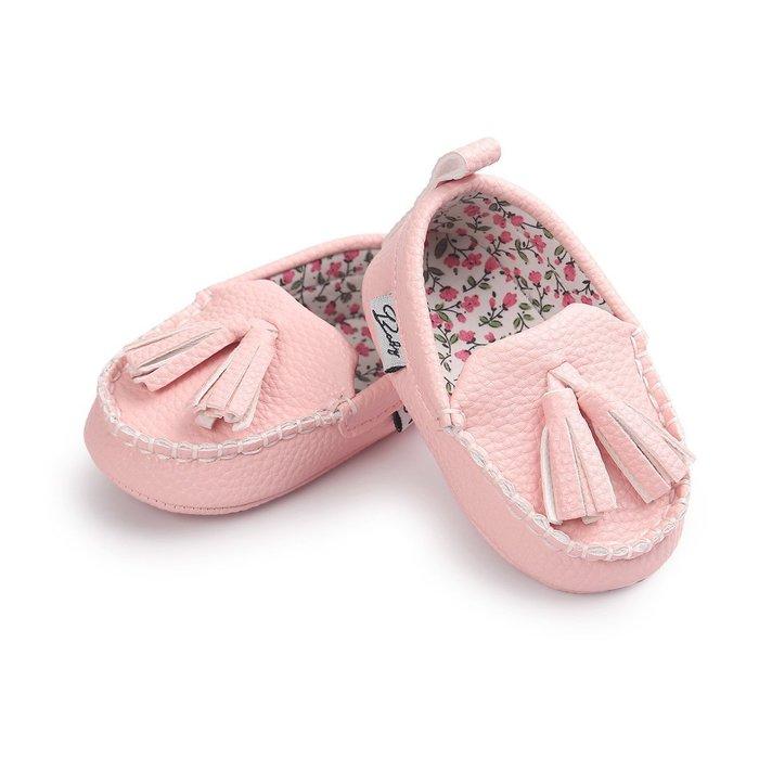森林寶貝屋~時尚粉色休閒鞋~學步鞋~幼兒鞋~寶寶鞋~室內鞋~學走鞋~穿脫方便~坐學步車穿~彌月贈禮~特價