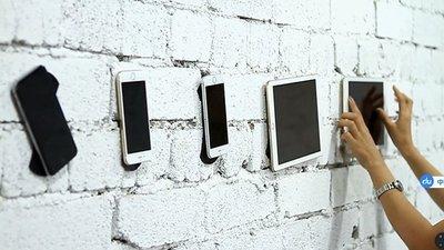 《大量現貨》美國爆款隨手 萬用貼 隨手貼 不需任何膠或釘子 萬能魔術貼(6塊裝) 強力無痕隨手貼/神奇膠貼/手機支架