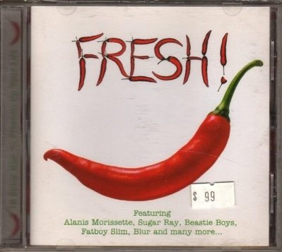 華聲唱片- FRESH  / 16 Spicy Hits To Freshen Up Your Life / 二手CD -- 120210