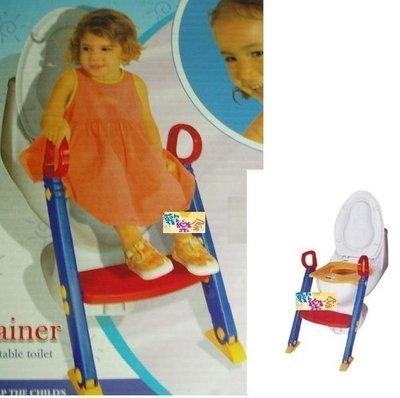 *歡樂屋*.....//幼兒專用馬桶階梯+學習便盆//.....安裝簡易/學習獨立
