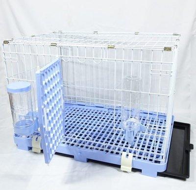 【優比寵物】歐式簡約610-M款全配寵物籠/寵物屋/狗籠/貓籠/兔籠/寵物籠(附自動餵食器/自動飲水器) 產地:台灣