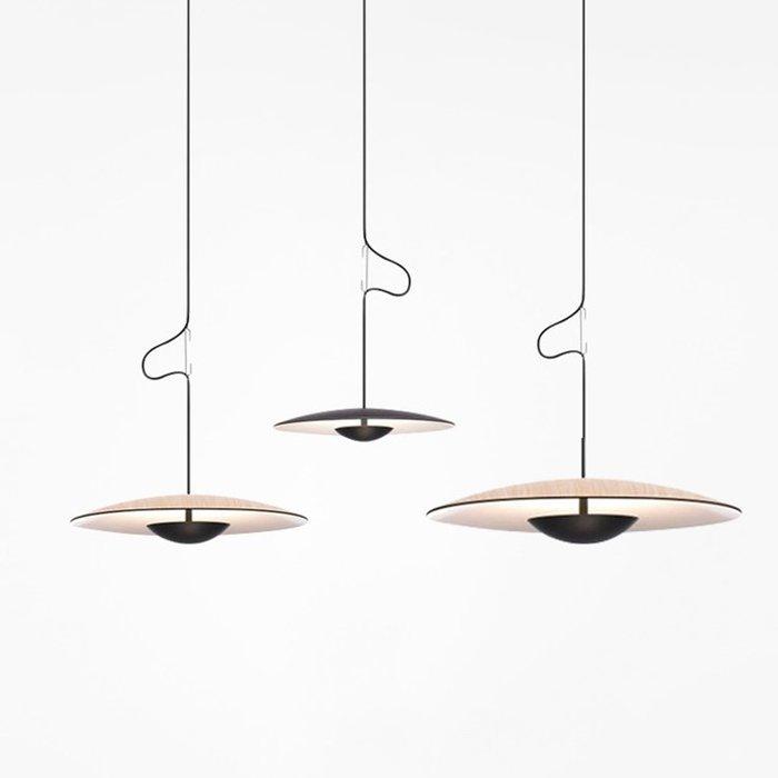 UFO 直徑350mm 北歐風格 餐廳 吊燈 創意 極簡臥室燈 時尚藝術走廊 裝飾 燈具 暖光 LED 110-220V
